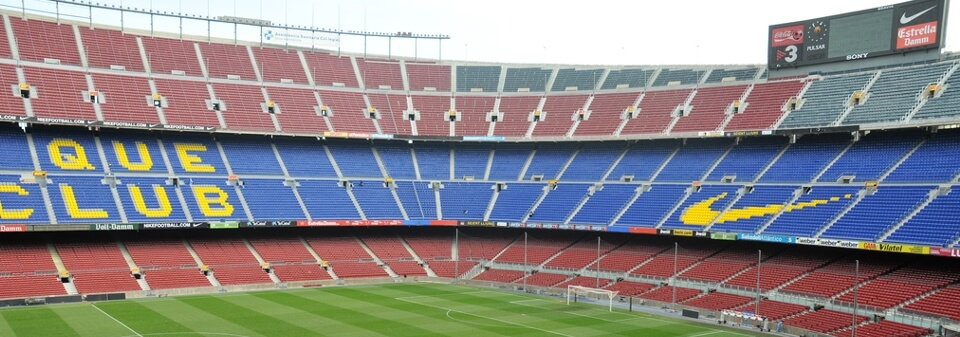 F.C. Barcelona at The Nou Camp Stadium