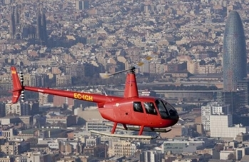 helicopter Tours Barcelona